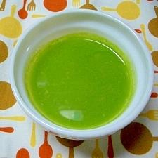 グリーンピーススープ(離乳食)