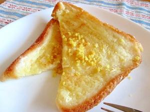 まるでチーズケーキ♡なヨーグルトフレンチトースト♪