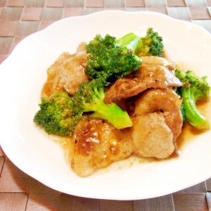 お弁当に★豚肉とブロッコリーの簡単オイスター炒め