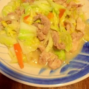 簡単!☆キャベツと豚肉の味噌炒め