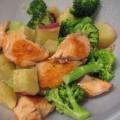 焼き鮭サラダ