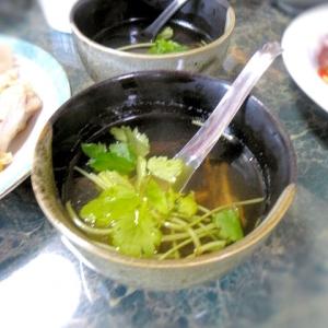 きくらげとクラゲのこりこりスープ
