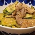 豚肉とズッキーニのマヨネーズ醤油炒め