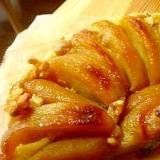 キャラメルりんごとアーモンドクリームのりんごパイ