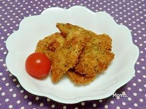 サクサク♪鶏ムネ肉のカツ