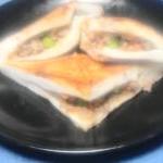 ひき肉ストックで☆白ハンペンのバター醤油焼き