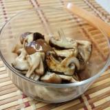 椎茸のめんつゆ焼き