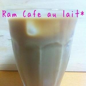 オトナ味☆ラム・カフェ・オレ♪