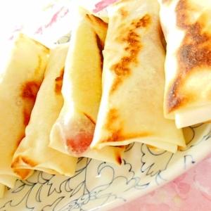 ❤薩摩芋とベーコンのガリマヨ・生姜春巻き❤