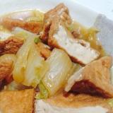厚揚げと白菜の炒め煮♡