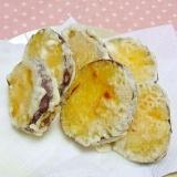 ちょっと変ったふかし芋の天ぷらと冷凍保存方法