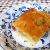 紫芋とりんごの豆腐ケーキ