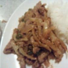 豚こまと野菜炒めカレー風味