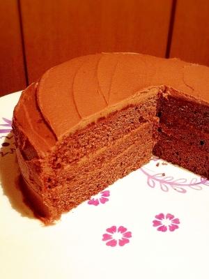 チョコレートガナッシュケーキ(ザッハトルテ)