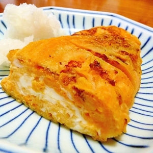 昆布がおいしい白だしつゆ使用☆甘めが美味しい卵焼き