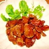 鶏レバー☆ニンニク醤油焼き