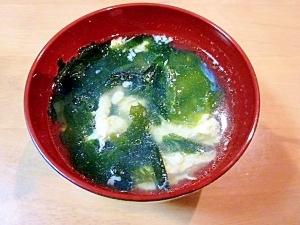 焼き肉屋さんの味♪玉子スープ