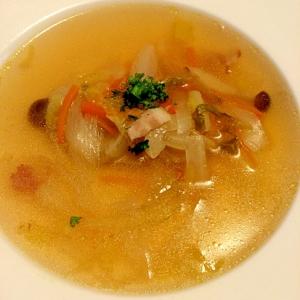 シンプル&簡単!☆白菜のスープ