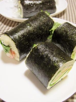 恵方パン【太巻き風ロールサンド】