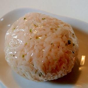 福岡県 「辛子明太子とあおさの塩麹おにぎり」