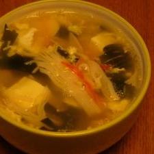 具だくさん☆玉子スープ