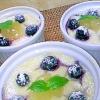 米粉で作る豆乳カスタード♡フルーツグラタン♪