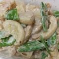 タケノコとツナのサラダ