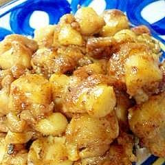 コリコリ炒め♪鶏軟骨の塩ガーリック