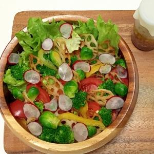 野菜をたくさん食べよ^ ^ カラフルサラダ♪