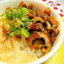 トロロたっぷりアナゴ丼★簡単主婦の料理