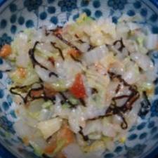 簡単白菜和え