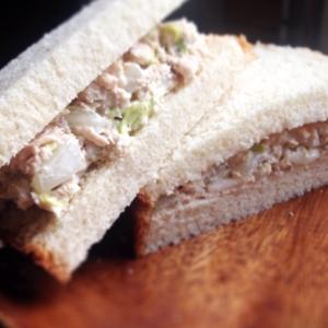 簡単☆白菜とツナのサンドイッチ