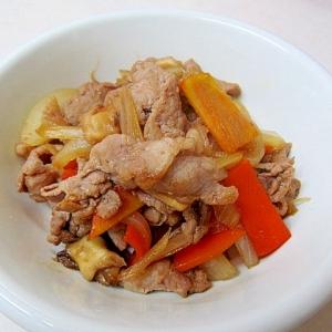 *ご飯ススム♪豚肉と野菜の甘辛炒め*