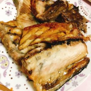 お魚のアラを美味しく食べよ!ブリのアラで塩焼き