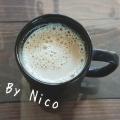 生姜と黒蜜ときな粉のホットミルク