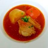 家イタリアン!☆ごろごろ野菜と鶏肉のトマト煮