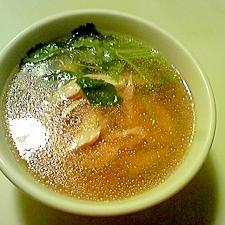 鶏のうまみを味わって!柔らかふくっらの鶏スープ