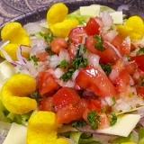 カレーカールタコスサラダ