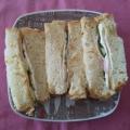 ハムとチーズの蜂蜜サンド