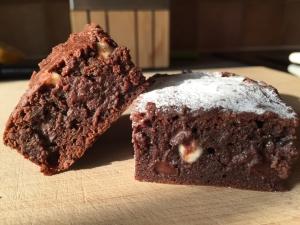 チョコ好きさんのための超濃厚チョコレートブラウニー
