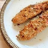 トースターで♪塩鮭のチーズパン粉マヨ焼き✿