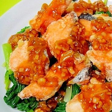 【管理栄養士の献立】から揚げや生姜焼きだって、旬の「鮭」で作ってみよう!