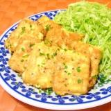 おつまみに♪高野豆腐でひとくちピカタ