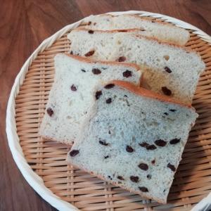 一次発酵までHBにお任せ!レーズン食パン