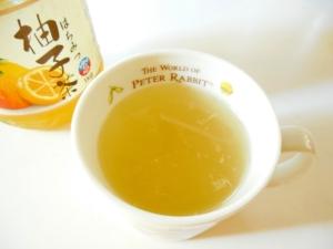 ほっと柚子茶