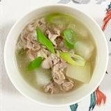 冬瓜と豚肉のスープ