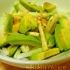 アボカドと大根のサラダ