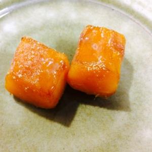 【ガサツ料理】かぼちゃ焼くだけカラメルパンプキン