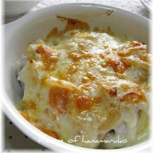 里芋と小えびのグラタン