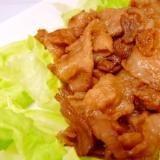 豚肉のはちみつ醤油炒め